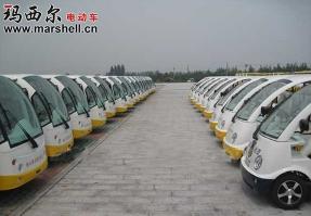 清东陵-电动观光车