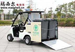 内蒙古2桶清运车-电动环卫车DHWQY-11
