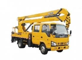 XGS5063JGKQ6 17米折臂高空作业车