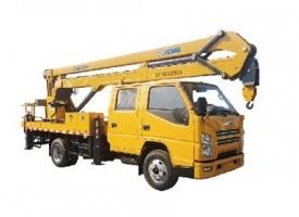 XGS5060JGKJ6 17米折臂高空作业车