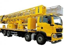 20米桁架式XZJ5311JQJZ5桥梁检测车